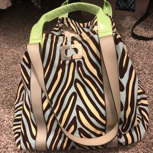 Fun DVF canvas tote